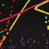 Röntgenschürze - Farbe Splatter Black
