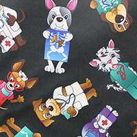 Röntgenschürze - Farbe Cotton Cats & Dogs