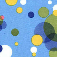 Röntgenschürze - Farbe Multi Bubbles
